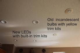 Recessed Led Lights For Kitchen Led Light Bulbs Pros And Pros Conspicuous Conservation