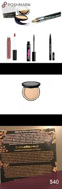 Too Faced London Light Makeup Bundle Mascara Powder Lip Gloss Eyeliners Too Faced