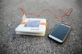 First Look Inflatable Solar Lantern Charges Your Phone