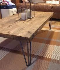 rustic cocktail table legs industrial coffee table writehookstudio com for wood pl on iron wood coffee
