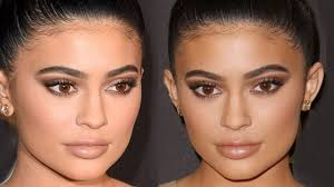 kylie jenner makeup tutorial golden globes makeup look brown smokey eye eman