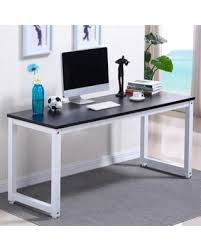 Home office work station Storage Winter Shopping Special Ktaxon Wood Computer Desk Pc Laptop Study Table Workstation Home Office Furniture Better Homes And Gardens Winter Shopping Special Ktaxon Wood Computer Desk Pc Laptop Study
