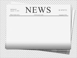 Newspaper Front Template Newspaper Front Page Template Fresh Blank Newspaper Template