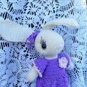 Куклы и игрушки (заяц вязаный) – купить изделия ручной работы ...