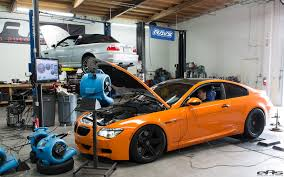 bmw m6 fire up car
