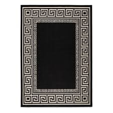 greek key rug with ikea area rugs black and white rugs