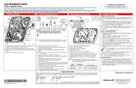 honeywell thermostat installation diagram on honeywell images Lux Thermostat Wiring Diagram honeywell lynx plus wiring diagram honeywell thermostat install how to install honeywell thermostat with only 2 wires lux thermostat wiring diagram dmh110