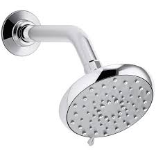 Shower Head With Lights Lowes Kohler Awaken Polished Chrome 3 Spray Shower Head At Lowes Com