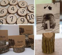 love this idea for table numbers and name card holders! i wonder Rustic Wedding Table Place Cards love this idea for table numbers and name card holders! i wonder how they do · rustic table numberswedding table numbersrustic place rustic wedding place cards