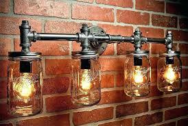 canning jar chandelier full size of canning jar chandelier light fixtures steampunk industrial lighting mason bar