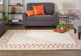 photo of mohawk home s chained border area rug in c from the laa collection