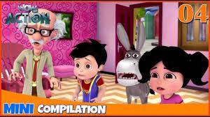 Vir The Robot Boy | Mini series | Compilation - 04 | <b>3D cartoon</b> for ...