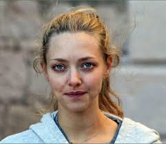 amanda seyfried makeup free out in croatia