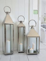 The big boys in our lantern collection, these strong contemporary-style  lanterns will create