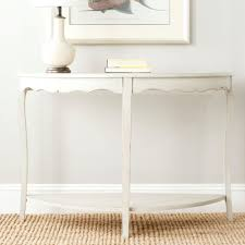 Safavieh Christina Shady White Console Table Amh6610a The Home Depot