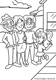 Kleurplaat Familie Gratis Kleurpaginas Om Te Downloaden
