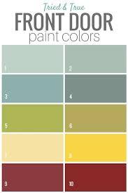 best paint for front doorBeautiful Front Door Paint Colors  Door paint colors Front doors