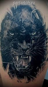 татуировки пантера фото