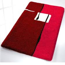 navy bathroom rugs modern colorful non slip bath rugs with regard to red bath rugs red