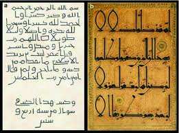 the arabic calligraphy an identifying