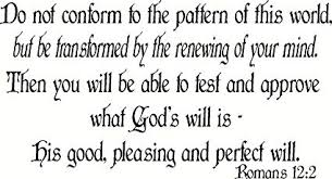 Do Not Conform To The Pattern Of This World Adorable Amazon Romans 4848 Wall Art Do Not Conform To The Pattern Of