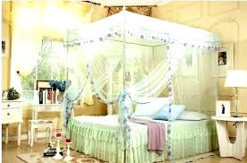 Sheer Canopy Curtains Canopy Bed With Curtains Canopy With Curtains ...