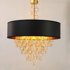 best black and gold pendant light country black gold pendant lamps restaurants cloth art iron metal