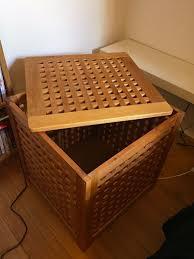 ikea hol coffee table bedside table storage box