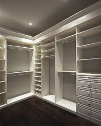 create space with closet organizers