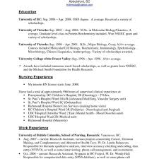 Nursing Job Resume Resume For Nurses With Experience Resume Samples For Nurses With No 2