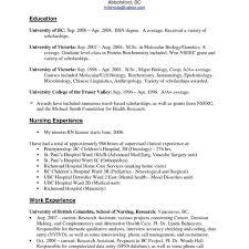 Nursing Job Resume Resume For Nurses With Experience Resume Samples For Nurses With No 2