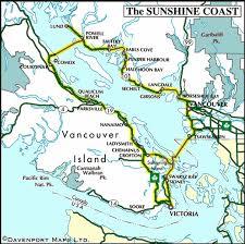 sunshine coast and vancouver island circle tour vancouver island Bc Ferries Map circle tour map of the sunshine coast and vancouver island, bc bc ferry map