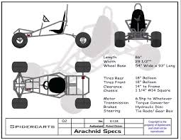 get spidercarts plans start building your go kart today