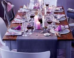 View in gallery Use candles to add warmth to the table setting