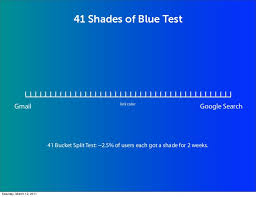... 41 Shades of Blue Test ...
