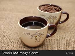 two coffee cups with coffee. Contemporary Coffee Two Coffee Cups For Coffee Cups With O