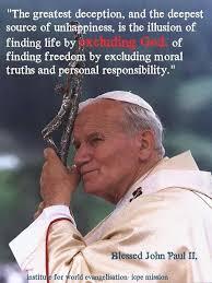 Pope John Paul Ii Quotes Best 48 Best Images About Pope John Paul Ii Quotes On Pinterest Saint