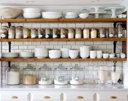open shelving in the kitchen is my favorite not only is it stunning i find it incredibly convenient i love using oversized mason jars for flour sugar