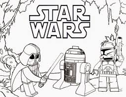 Small Picture Lego Star Wars Free Coloring Page Kids Lego Movies Star Wars