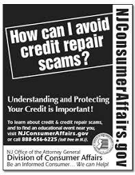 credit repair scams.  Credit Credit Repair Print Ad Intended Scams