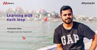 Myntra Life - Myntra has been a joyride for Subhashis Sahu!... | فيسبوك