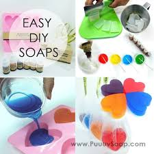 picture of easy diy soap kits 自制溶解皂工具包 小孩适用