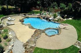 cool deck paint neat concrete pool deck with a stone walkway design cool pool