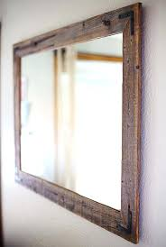 large mirror on wall best large wall mirrors ideas on large wall rustic wood mirrors for large mirror on wall