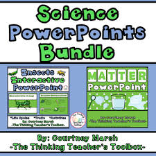 Science Powerpoint Bundle Insects Matter Foss Tpt