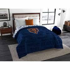 Nfl Bedroom Furniture Nfl Denver Broncos Bed In A Bag Complete Bedding Set Walmartcom