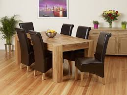inspiring oak dining table and chairs with give your dining room an amazing look with oak