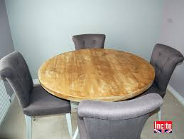 custom made painted distressed round table