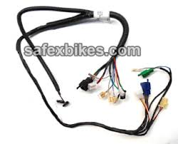wiring harness bullet electra es lh swiss motorcycle parts for click to zoom image of wiring harness bullet electra es lh swiss