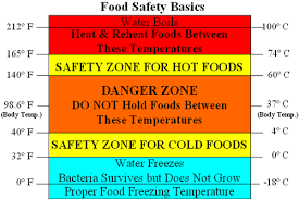 Food Temperature Chart Danger Zone The Danger Zone Cooking Safety The Folklore Food Blog